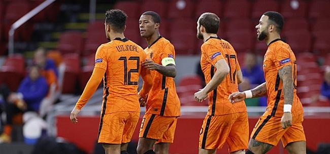 Foto: 'De Boer gaat ervaren Oranje-speler opofferen'