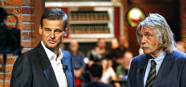 Foto: Van der Gijp en Derksen onder indruk van mogelijke Ajax-hordes