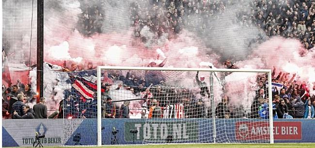 Foto: Willem II-fans kondigen protestactie aan na verbod