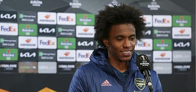 Foto: Zaakwaarnemer Willian fileert Arsenal