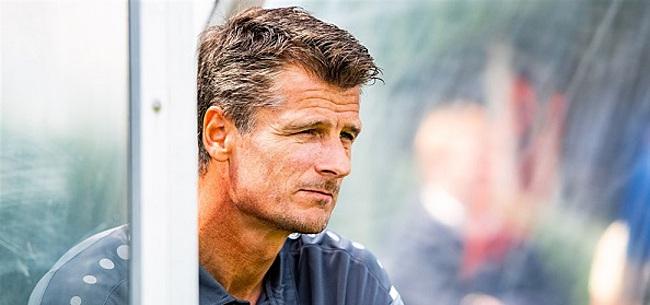 Foto: Wim Jonk 'niet onder de indruk van geruchten'