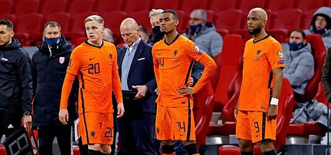 Foto: 'Weghorst moet bedanken na krankzinnige Oranje-actie'