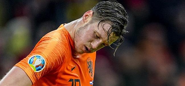 Foto: Weghorst spreekt zich uit over EK-deelname met Oranje