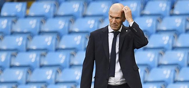 Foto: 'Zidane slaat met vuist op tafel: sterspeler moet absoluut opkrassen'