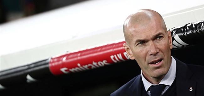 Foto: 'Zidane zorgt voor potentiële rel met Real-ster'