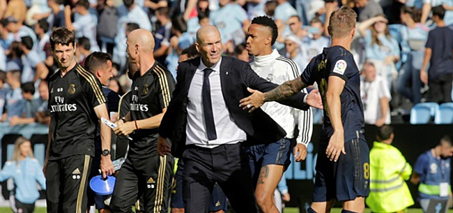 Foto: Zidane hakt knoop door over Courtois