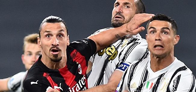 Foto: 'Herstel Zlatan maakt AC Milan ongerust'
