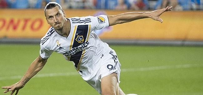 Foto: VIDEO: Voormalig Groningen-flop levert assist op goal Zlatan voor LA Galaxy