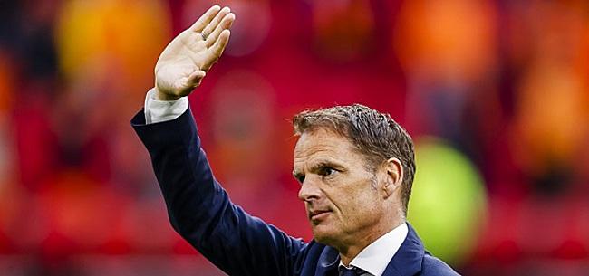 Foto: 'Frank de Boer liegt na Oranje-blunder'