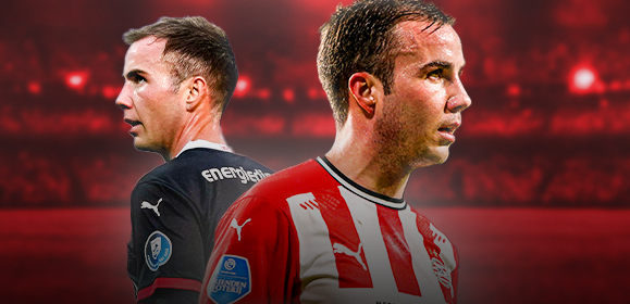 Mario Götze zorgt voor probleem bij PSV - Soccernews.nl